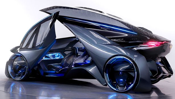 This Is Chevy S Self Driving Future Car