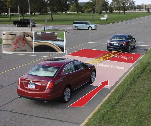 Forward Collision Warning System getting advance by Auto Brake Support system