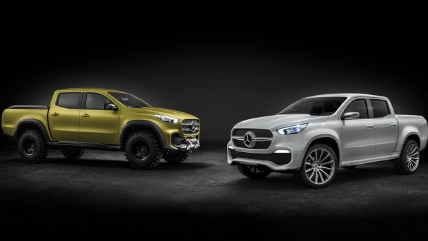Mercedes-Benz X Class Concept – First Premium Pick-up Truck Range
