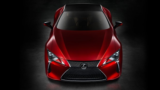 2017 Lexus LC Concept – Initiating a New Era of Luxury Coupes
