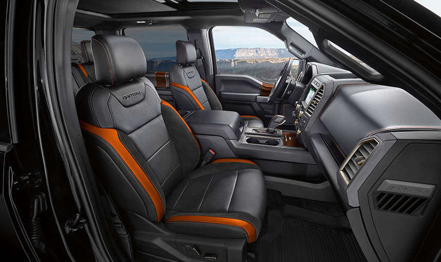 Ford Raptor 2017 Interior >> SellAnyCar.com – Sell your car in 30min.2017 Ford F-150 Raptor - An Ultimate Race Truck with ...