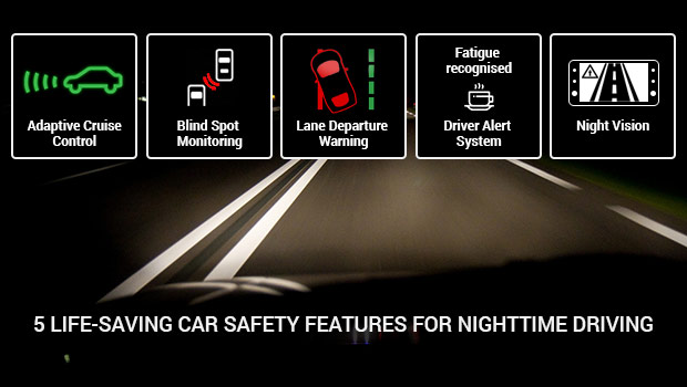 5 Life-Saving Car Safety Features for Nighttime Driving
