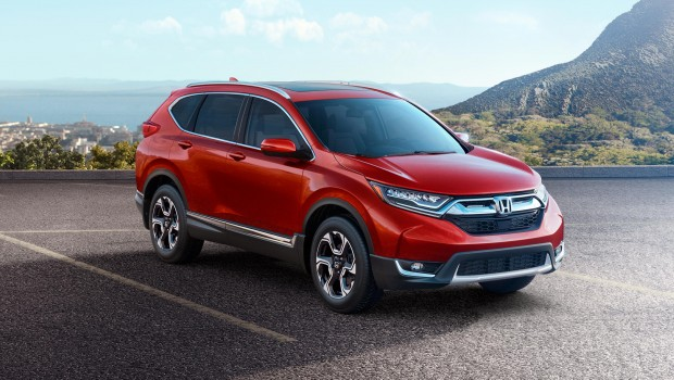 Car Makes And Models The Upgraded Honda CRV 2017 Launched In The UAE