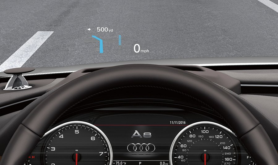 head up display audi 2014 audi a7 head up display the. Black Bedroom Furniture Sets. Home Design Ideas