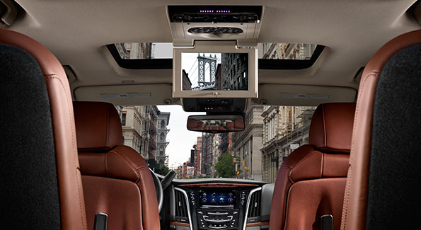2018 Cadillac Escalade - Interior and Technology