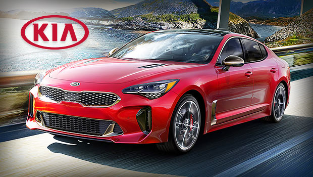 sell your car in kia stinger first ever sports sedan by kia. Black Bedroom Furniture Sets. Home Design Ideas