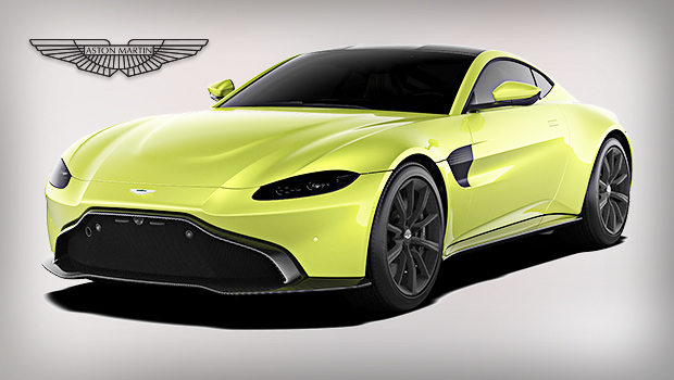 Car Makes And Models 2018 Aston Martin Vantage U2013 A Luxury Coupe With  Twin Turbocharged V8 Engine