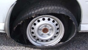 Motorists Warned against Driving a Vehicle with Unfit Tyres by Abu Dhabi Police