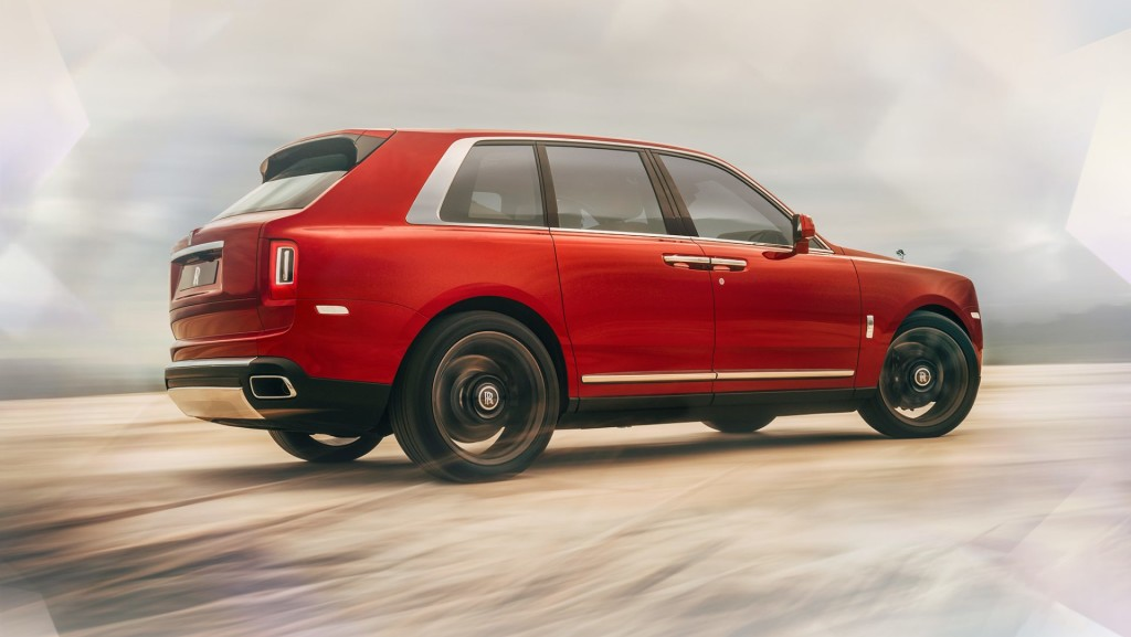 Price of the 2019 Rolls-Royce Cullinan in the UAE