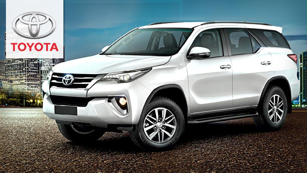 Car Makeodels 2019 Toyota Fortuner Versatile Midsize Suv With A V6 Engine