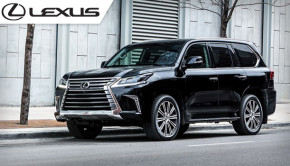 2019 Lexus LX 570 – Urban Luxury SUV with Multi-terrain Select System